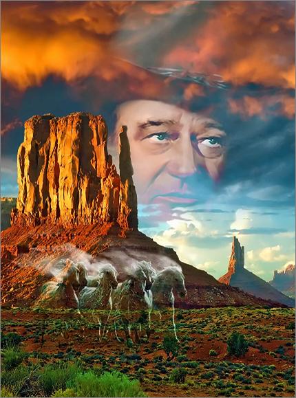 John Wayne(R)